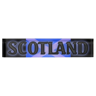 Desk Nameplate scotland
