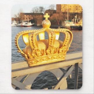 Detail of bridge in Stockholm, Sweden Mouse Pad