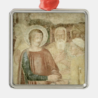 Detail of St. Ranieri in the Holy Land Christmas Ornament