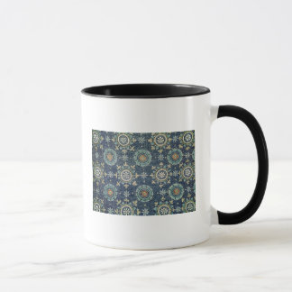 Detail of the floral decoration from the vault mug