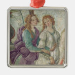 Detail of Venus and the Graces Christmas Tree Ornaments