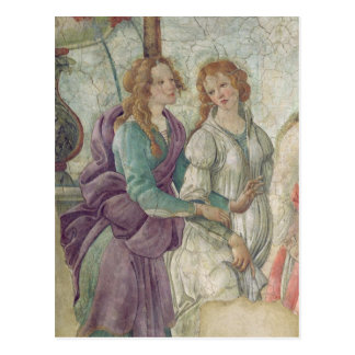 Detail of Venus and the Graces Postcard