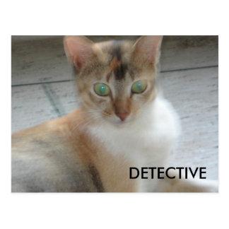 DETECTIVE POSTCARD