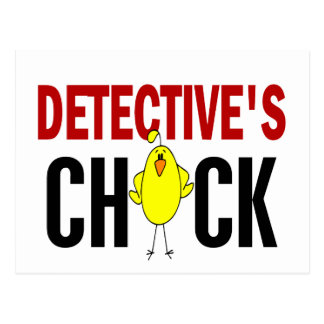 Detective's Chick 1 Postcard