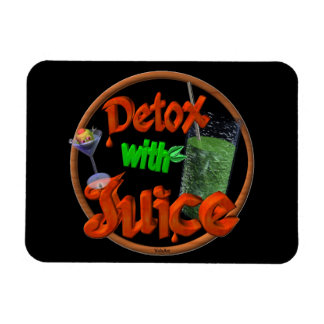 Detox with Juice on 100+ products Magnet
