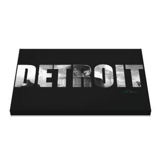 Detroit | Belle Isle Park Fountain Canvas Print