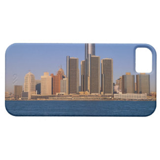 Detroit buildings on the water barely there iPhone 5 case