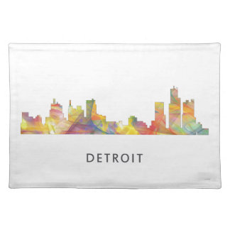 DETROIT, MICHIGAN SKYLINE WB1 - PLACEMAT