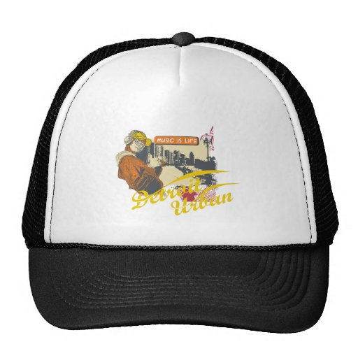 Detroit Urban T-shirts and Gifts Hat