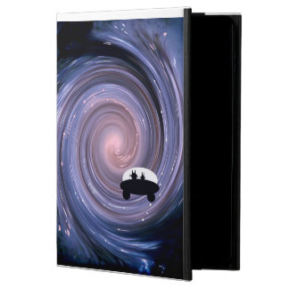 Deux Chats approaching new galaxy Powis iPad Air 2 Case