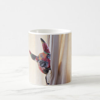 Devil lurking coffee mug