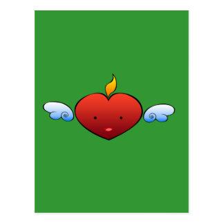 Deville Heart Postcard