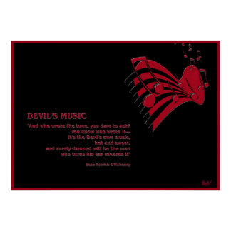 Devil's Music Poster