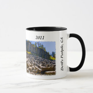 Devil's Postpile Father's Day Mug