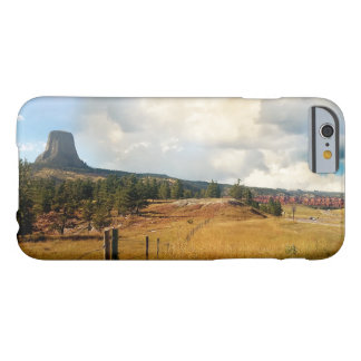 Devils Tower, ponderosa pine Barely There iPhone 6 Case