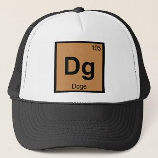 Dg - Doge Meme Chemistry Periodic Table Symbol Trucker Hat