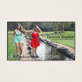 Dia Bayliss Creative Photography Business Card