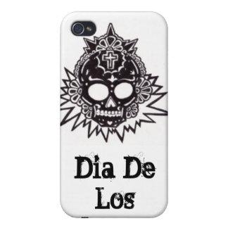 Dia de los Muertos aztec Case For The iPhone 4