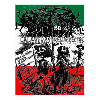 Dia de los Muertos (Day of the Dead) Postcard