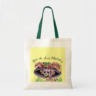 Dia de Los Muertos Gift Tote Bag Catrina Skeleton