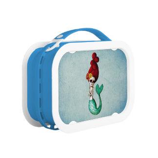 Dia de Los Muertos Shy Mermaid Lunchboxes
