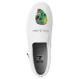 Dia de los Muertos Slip On Shoes
