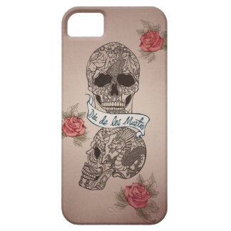 Dia De Los Muertos Sugar Skull Barely There iPhone 5 Case