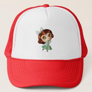 Dia de Los Muertos Vintage Doll Trucker Hat