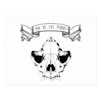 Dia De Los Perros Postcard