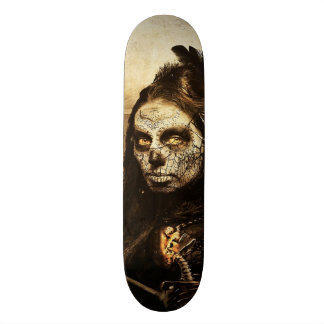 Dia de Muertos skateboard
