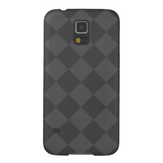 Diag Checkered - Gray and Dark Gray Galaxy S5 Cover
