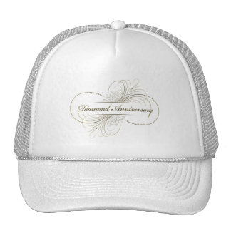 Diamond anniversary cap