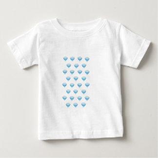 Diamond Emoji in Glitter Baby T-Shirt