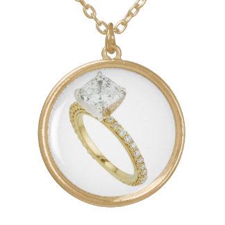 Diamond Engagement Ring Costume Jewelry Charm