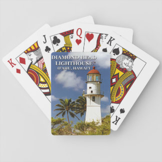 Diamond Head Lighthouse, O'ahu, Hawai'i Playing Cards