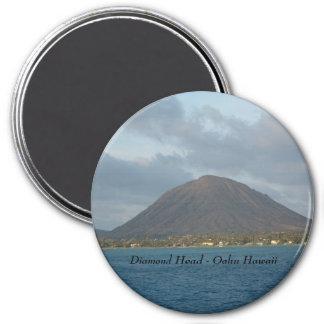 Diamond Head - Oahu Hawaii 7.5 Cm Round Magnet