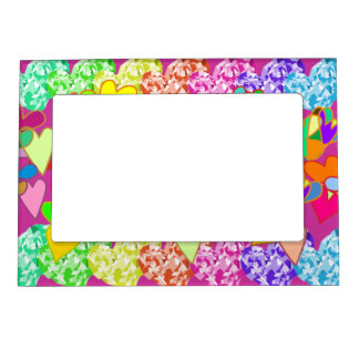 Diamond Hearts Magnetic Frame