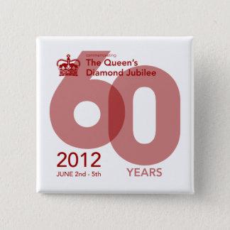 Diamond Jubilee Commemorative Button [Block]