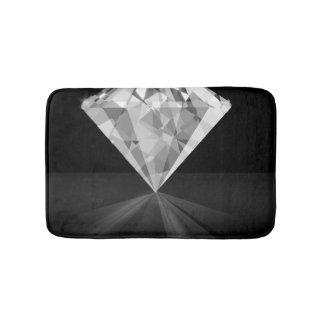 Diamond On Back Bath Mats