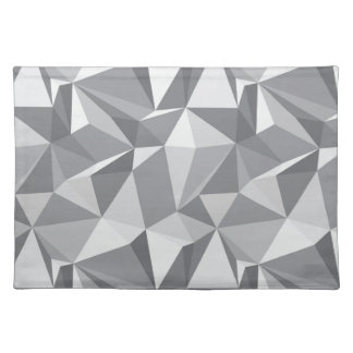Diamond Pattern - Abstract Polygon Placemat