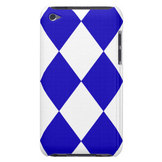 DIAMOND PATTERN in DEEP BLUE ~ iPod Touch Case-Mate Case