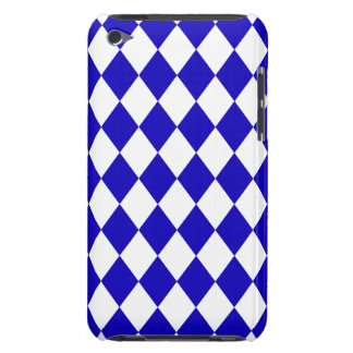 DIAMOND PATTERN in DEEP BLUE ~ Barely There iPod Cases