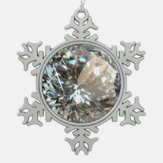 DIAMOND SNOWFLAKE ORNAMENT