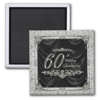Diamond Wedding Anniversary Magnet