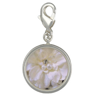Diamonds and Pearls Wedding Sneakers Charm Clip On