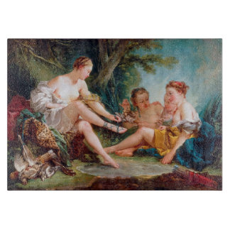 Diana Resting after the Hunt boucher francois Cutting Board