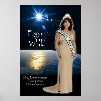 Diana Santoro, Mrs. North America Galaxy 2002-2 Poster