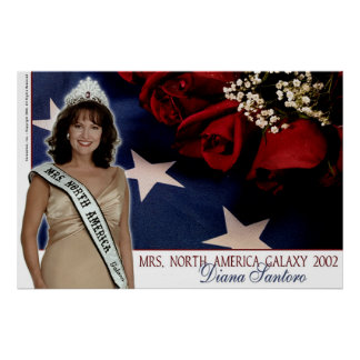 Diana Santoro, Mrs. North America Galaxy 2002-3 Posters