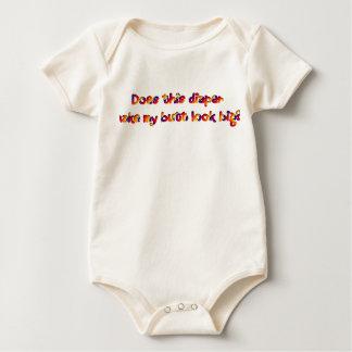 Diaper Butt Baby Bodysuit
