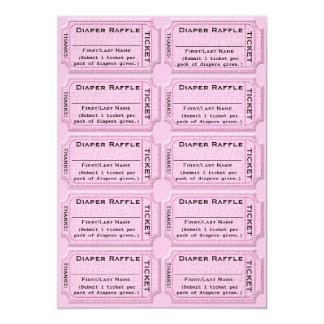 Diaper Raffle Tickets Cute Baby Shower